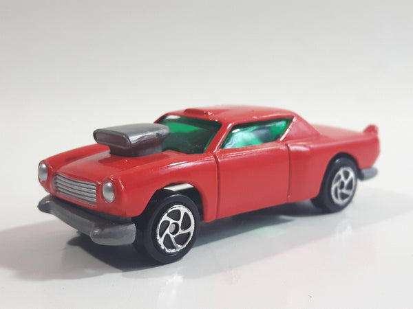 Unknown Brand Red Die Cast Toy Car Vehicle