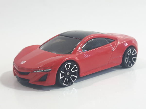 2013 Hot Wheels HW Showroom - Asphalt Assault 2012 Acura NSX Concept Red Die Cast Toy Car Vehicle