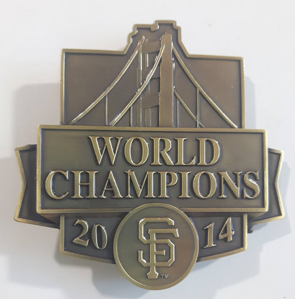 2014 World Champions San Francisco Giants MLB Baseball Team Metal Belt Buckle