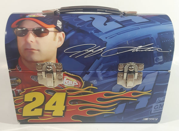 2005 NASCAR Winner's Circle Driver #24 Jeff Gordon Tin Metal Lunch Box