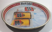 Vintage Carling Black Label Beer Pub Beverage Serving Tray