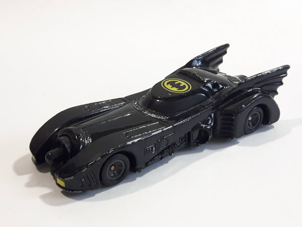 Vintage 1989 ERTL DC Comics Batmobile Black Die Cast Toy Car Vehicle