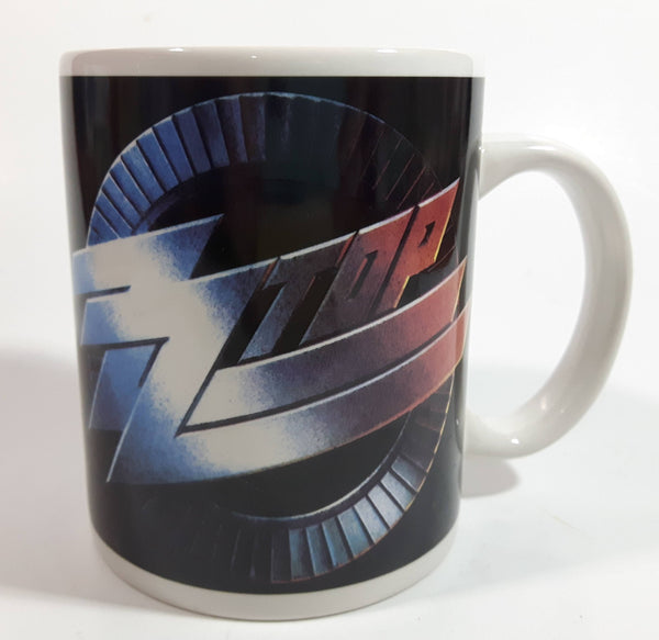 2009 ZZ Top Rock Band Ceramic Coffee Mug Music Collectible