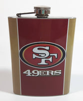 San Francisco 49ers NFL Football Team 8 oz. Stainless Steel Flask