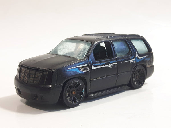 2013 Hot Wheels HW City Street Power '07 Cadillac Escalade Black Die Cast Toy Car SUV Vehicle