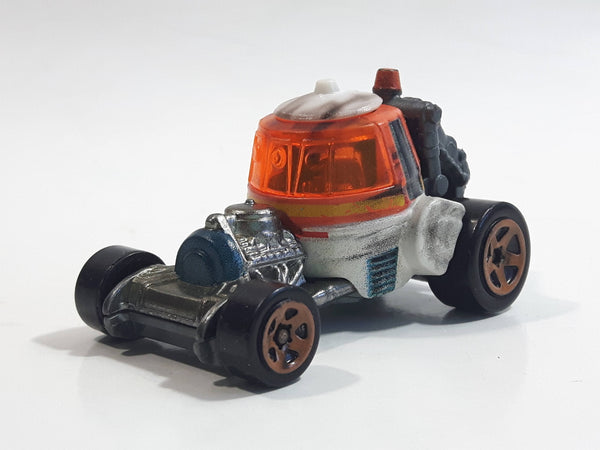 2014 Hot Wheels LFL Star Wars Character Cars Chopper Orange White Grey Die Cast Toy Car Vehicle CGW46
