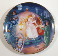 The Franklin Mint Heirloom Recommendation Cinderella's Magical Journey Limited Edition Fine Porcelain Collector Plate #HA6354 By David Willardson