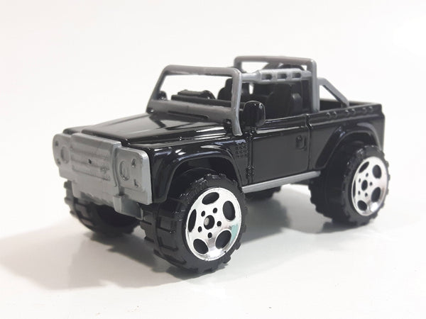 2004 Matchbox Hero City Off Road Land Rover SVX Black Die Cast Toy Car Vehicle