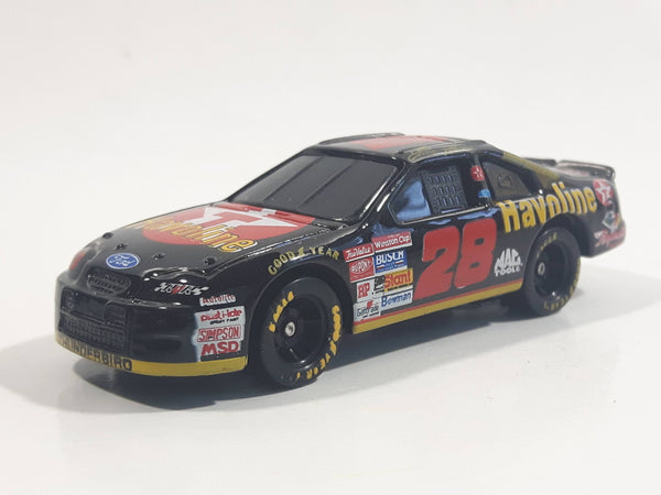 1999 Racing Champions Robert Yates RYR Racing NASCAR #28 Ernie Irvan Ford Thunderbird Texaco Havoline Black 1/64 Scale Die Cast Toy Race Car Vehicle