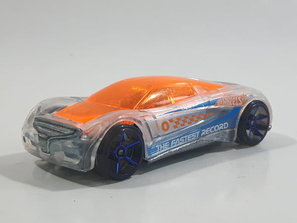2013 Hot Wheels Nitrium Clear Die Cast Toy Car Vehicle