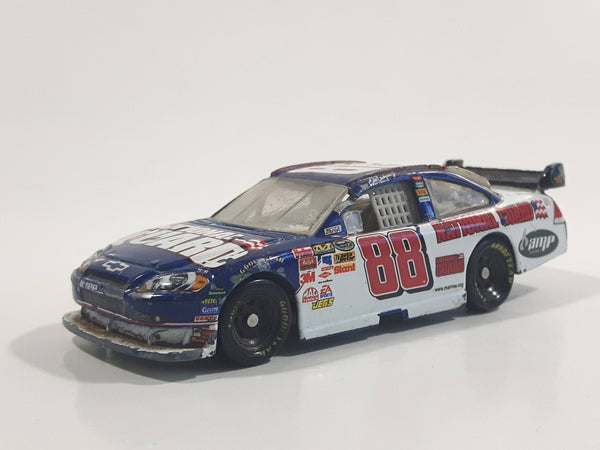 2008 Motorsports Authentics NASCAR #88 Dale Earnhardt Jr. National Guard Mountain Dew Amp Engery White and Blue Die Cast Toy Race Car Vehicle