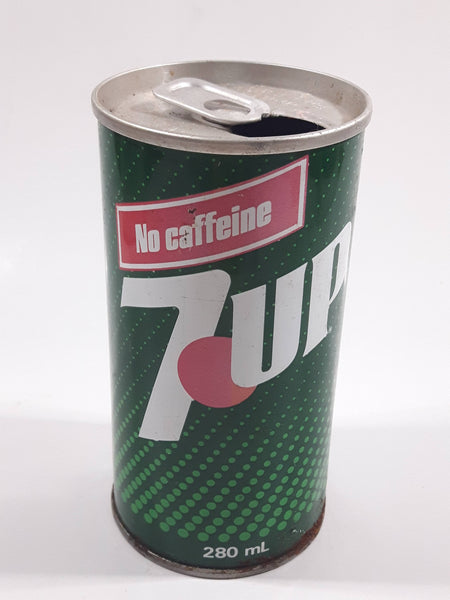 Vintage 7up No Caffeine 280ml Tab Top Steel Soda Pop Can