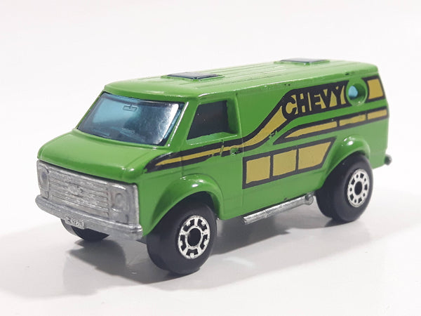 Vintage 1979 Lesney Matchbox Superfast No. 68 Chevy Van Green Die Cast Toy Car Vehicle