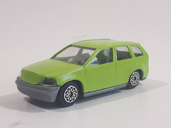 Unknown Brand H6 Lime Green SUV Die Cast Toy Car Vehicle