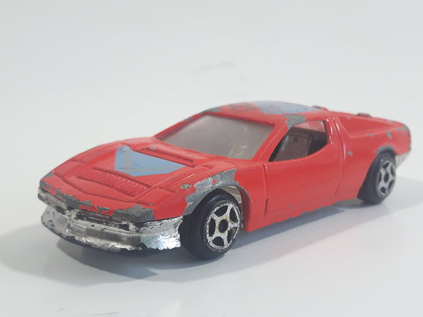 Summer Marz Karz No. 8805 Ferrari Testarossa '2001' Red Die Cast Toy Exotic Race Car Vehicle