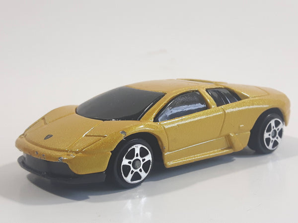 Maisto Fresh Metal Lamborghini Murcielago Gold Die Cast Toy Car Vehicle