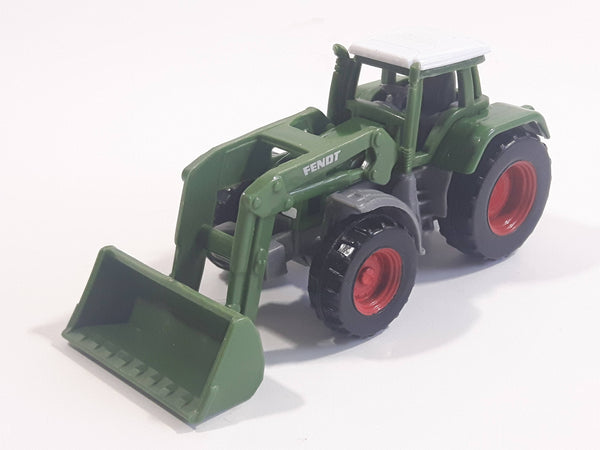 Siku Fendt Tractor Green Grey White Plastic Toy Car Farming Machinery Vehicle
