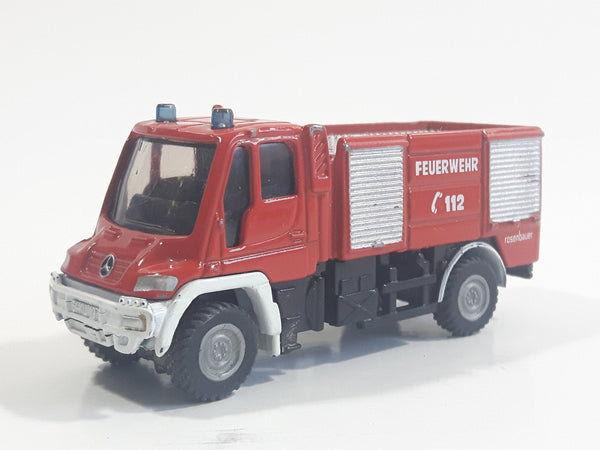 Siku 1068 Feuerwehr 112 Fire Engine Truck Red Die Cast Toy Car Vehicle