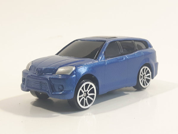 Motor Max Dodge Van SUV Blue No. 6143-6 Die Cast Toy Car Vehicle