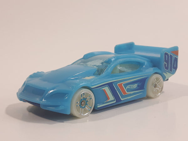 2014 Hot Wheels HW Race - Night Storm Time Tracker Light Blue Die Cast Toy Car Vehicle