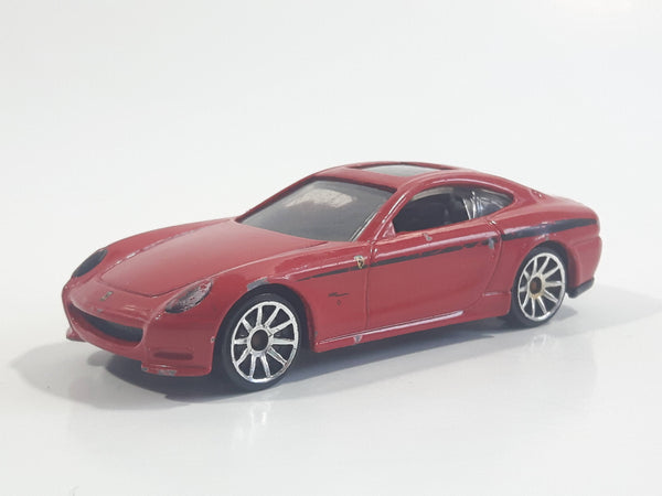 2013 Hot Wheels Ferrari 612 Scaglietti Red Die Cast Toy Car Vehicle