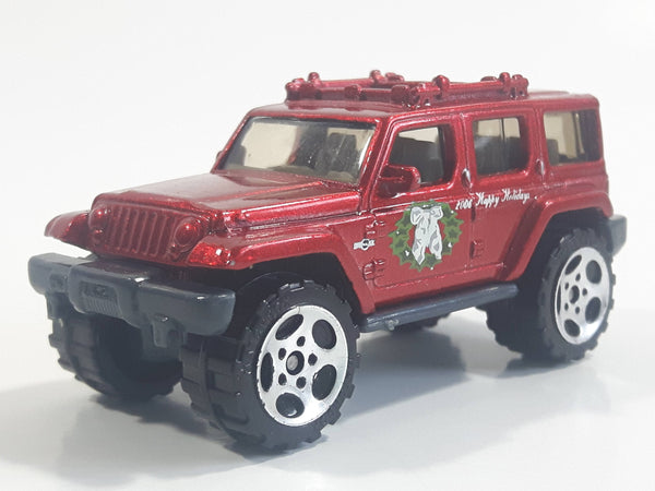 2006 Matchbox Surprise Packs: Coal Cars Jeep Rescue Concept Metalflake Red Die Cast Toy Car Vehicle