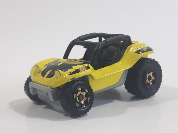 2016 Matchbox Desert Baja Bandit Yellow Die Cast Toy Car Vehicle
