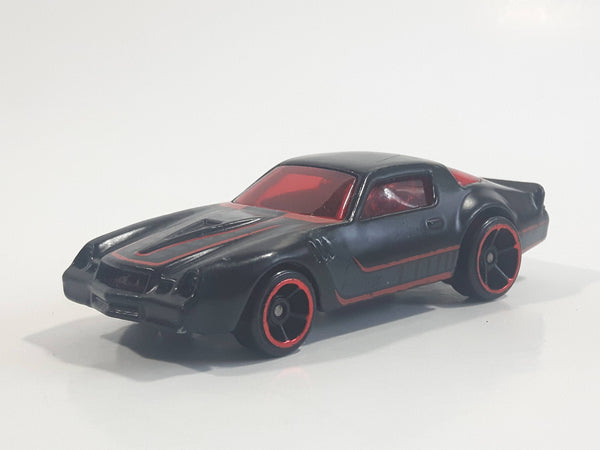2019 Hot Wheels Multi-Pack Exclusive Camaro Z28 Satin Black Die Cast Toy Muscle Car Vehicle