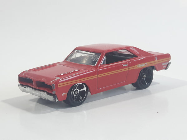 2014 Hot Wheels HW Workshop: Muscle Mania 1974 Brazilian Dodge Charger R/T Dart Red Die Cast Toy Car Vehicle