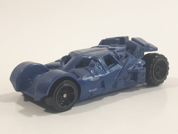 2016 Hot Wheels Batman The Dark Knight Batmobile (Tumbler) Dark Blue Die Cast Toy Batman Character Car Vehicle