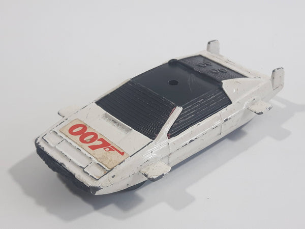Vintage Corgi Juniors Lotus Esprit 007 James Bond White Die Cast Toy Spy Movie Character Car Vehicle