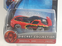 2012 Maisto Marvel Collection Dare Devil 1998 Dodge Viper GT2 Red Die Cast Toy Car Vehicle New in Package