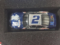 2002 Action Racing Limited Edition Miller Lite Elvis 25th Anniversary 1:64 Scale NASCAR Stock Car #2 Rusty Wallace Miller Lite 2002 Ford Taurus Die Cast Toy Car Vehicle In Collectible Tin Metal Container 1 of 24,864