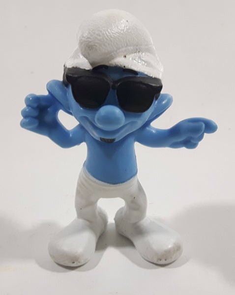 "2013 Peyo Smurf ""Smooth"" #10 McDonalds Happy Meal Collectible Toy Figurine - China"