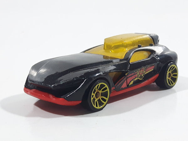 2019 Hot Wheels HW Rescue Fast Master Black Die Cast Toy Car Vehicle