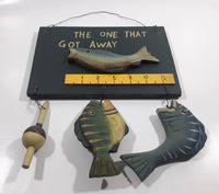 The One That Got Away Fish Fishing Wood Wall Hanging
