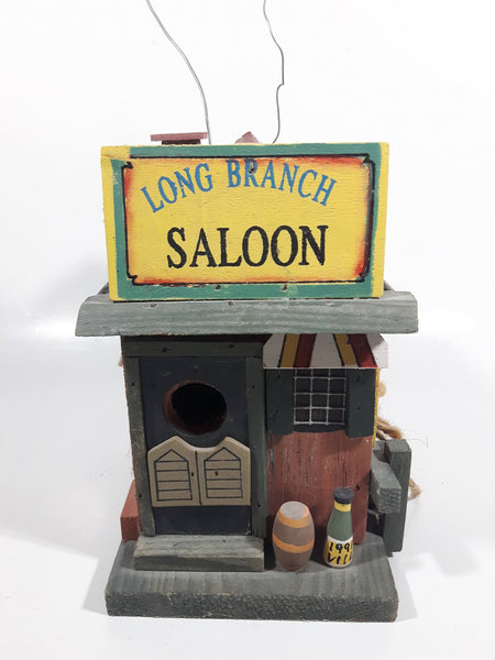 Long Branch Saloon Themed Highly Detailed Hanging Birdhouse Style Wood Building Model