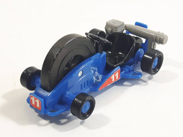 Rare Hard To Find Tomy Japan Go Kart Blue  #11 Toy Car Vehicle