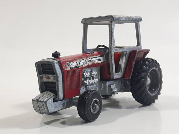 Vintage 1970s ERTL Massey Ferguson MF 2800 Tractor Red Die Cast Toy Car Vehicle