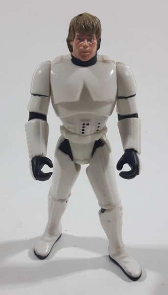 "1996 Kenner LFL Star Wars Stormtrooper Luke 3 3/4"" Tall Toy Action Figure - China"