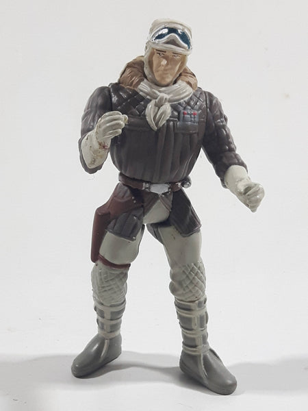 "1995 Kenner Toys LFL Star Wars Character Han Solo in Hoth Gear Action Figure - No Weapon - 3 3/4"" Tall"