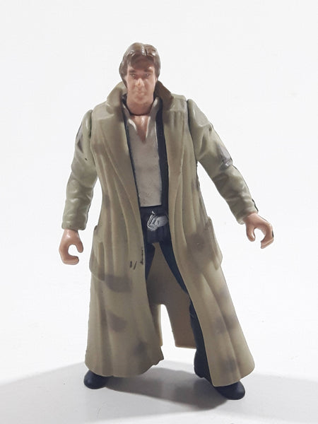 "1997 Kenner Toys LFL Star Wars Character Han Solo Endor Gear Action Figure - No Weapon - 3 3/4"" Tall"