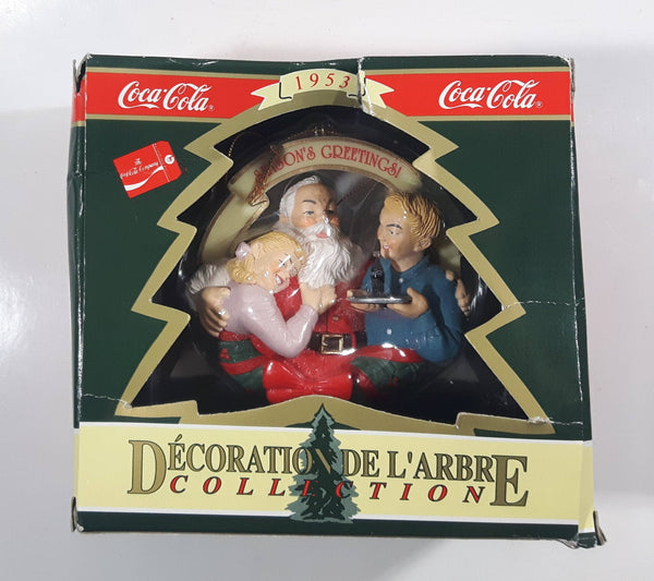1996 Coca-Cola Trim A Tree Collection Christmas Tree Ornament New in Box
