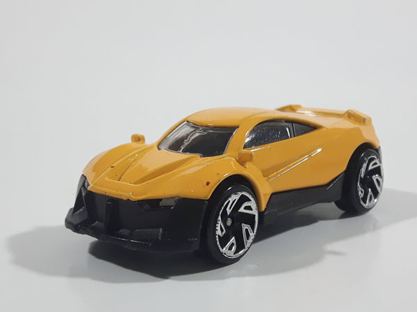 Unknown Brand DK-GT Yellow Die Cast Toy Car Vehicle