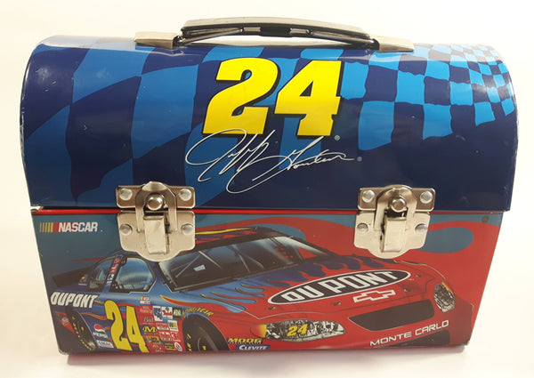 NASCAR Du Pont Motorsports Driver #24 Jeff Gordon Tin Metal Lunch Box