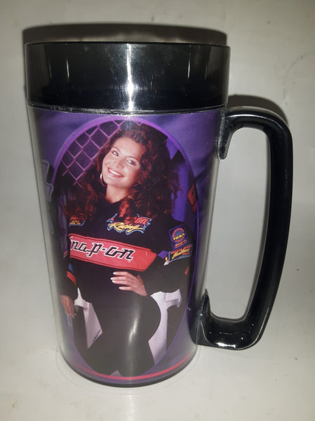 "Thermo Serv Snap On Tools Snap Racing #94 Calendar Girls 6 1/2"" Tall Plastic Beer Mug Cup"