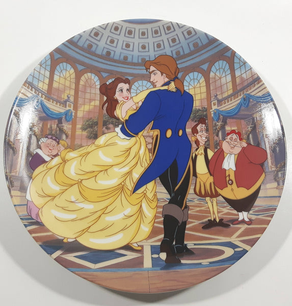 "1994 Bradex Walt Disney Beauty and the Beast ""The Spell is Broken"" 7 1/2"" Porcelain Collector's Plate"