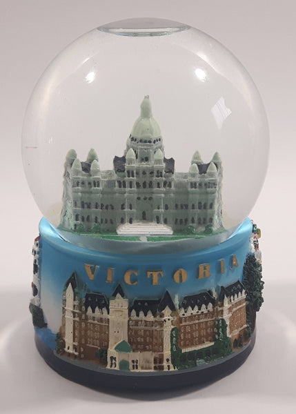 "Victoria, Legislative Assembly of British Columbia Parliament Building 3 1/2"" Snow Globe"
