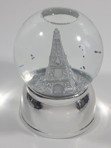 "Eiffel Tower Themed 5 1/2"" Snow Globe"