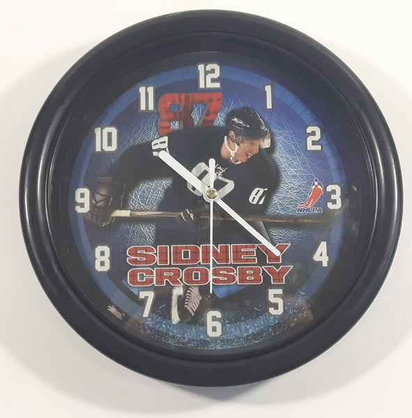 "NHLPA Sydney Crosby #87 Pittsburgh Penguins NHL Ice Hockey Player Battery Operated 8"" Round Wall Clock"